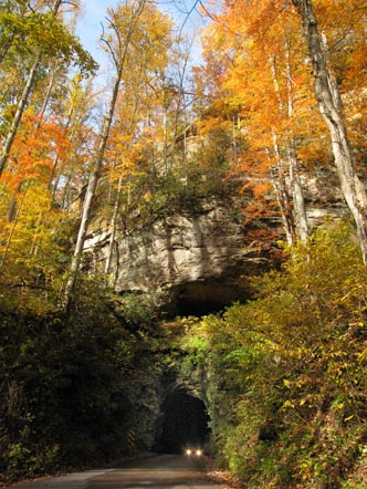 Fall Colors at Nada Tunnel