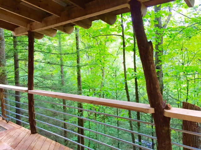 Floor Plan for Sylvan Float Treehouse